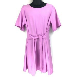 Chelsea28 Front Tie Shift Pink Dress XL